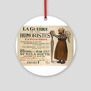 La Guerre Et Les Humoristes Exposition - Maurice l