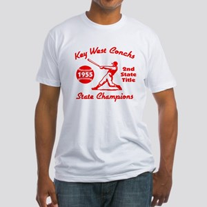 1955 Key West Conchs State Champions Fitted T-Shir