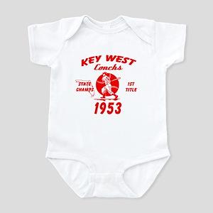 1953 Key West Conchs State Champions Infant Bodysu