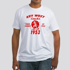 1953 Key West Conchs State Champions Fitted T-Shir