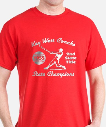 1953 Key West Conchs State Champions T-Shirt