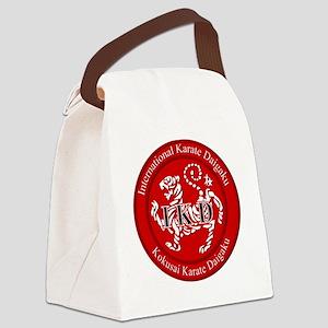 logo IKD Canvas Lunch Bag