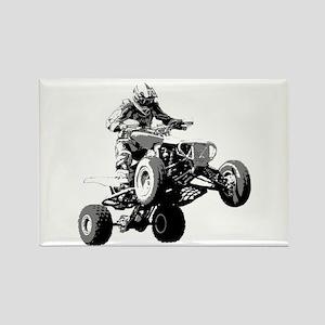 ATV Racing Rectangle Magnet