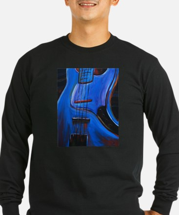 Electric Blue Bass Art T