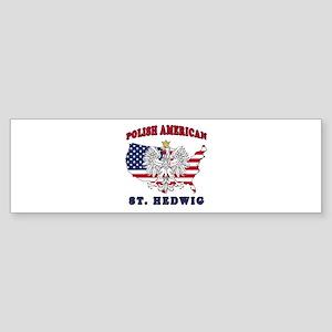 St. Hedwig Texas Polish Sticker (Bumper)
