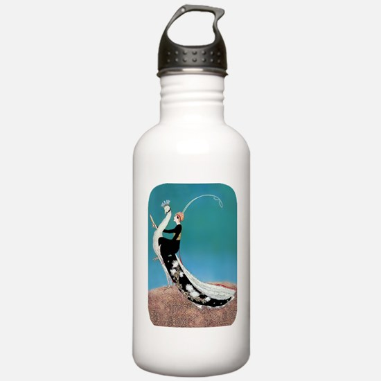 PwrBnk-Art Deco Plank  Water Bottle