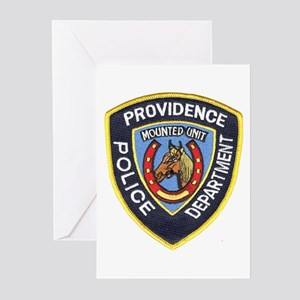 Providence Mounted Police Greeting Cards (Package