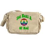 Peace Of Me? Messenger Bag