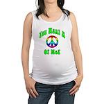 Peace Of Me? Maternity Tank Top