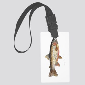 Colorado River Cutthroat Trout Large Luggage Tag
