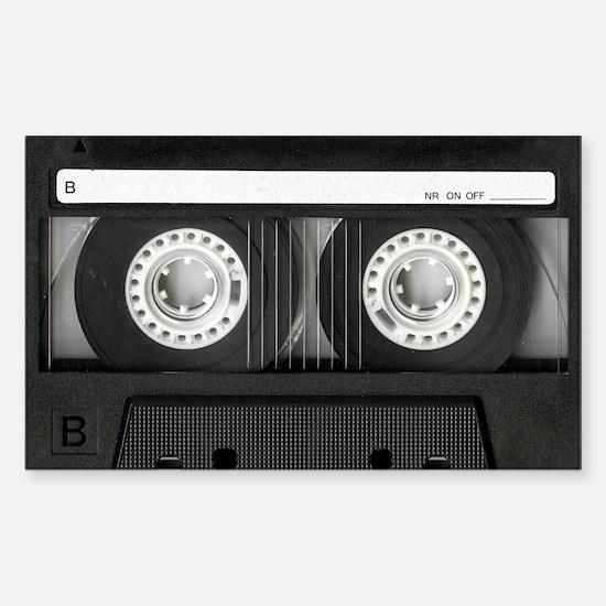 Cassette Sticker (Rectangle)