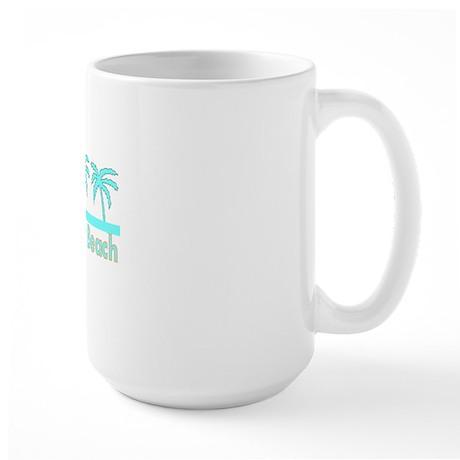 Clearwater Beach, Florida Large Mug