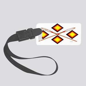 SOUTHEAST TRIBAL STICKBALL Small Luggage Tag