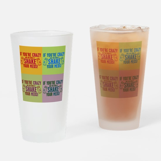 Unique Medication Drinking Glass