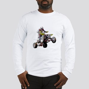 ATV Racing (color) Long Sleeve T-Shirt