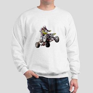ATV Racing (color) Sweatshirt