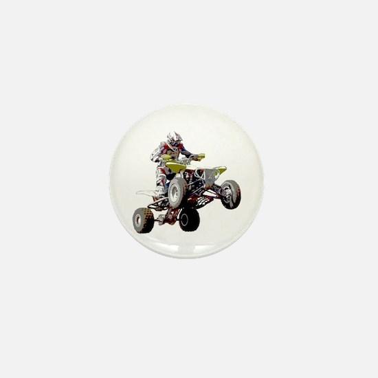 ATV Racing (color) Mini Button