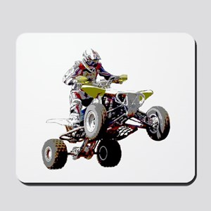 ATV Racing (color) Mousepad