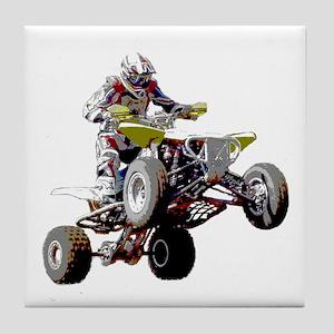 ATV Racing (color) Tile Coaster