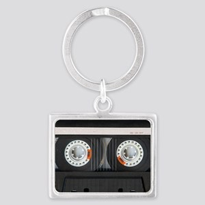 Retro, Mixtape Landscape Keychain