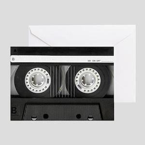 Retro, Mixtape Greeting Card