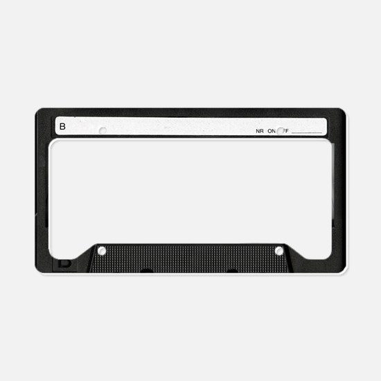 Retro, Mixtape License Plate Holder