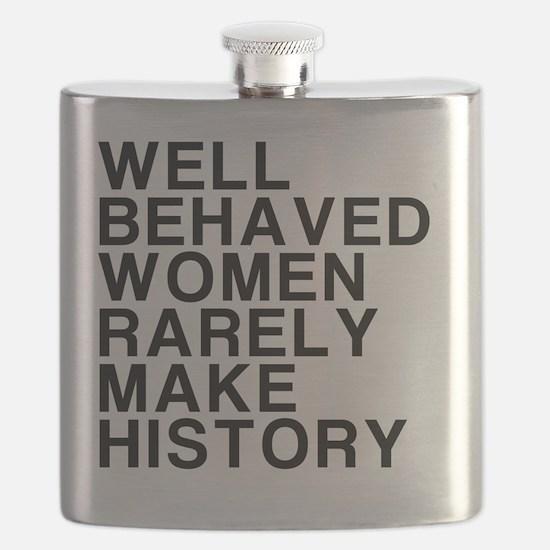 Women, Make History Flask