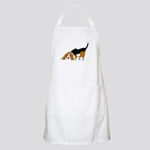Sniffing Hunting Beagle BBQ Apron