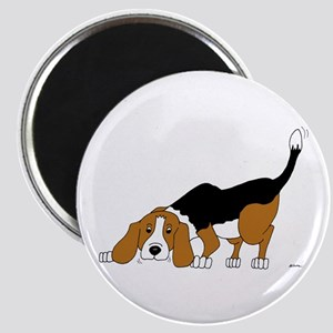 Sniffing Hunting Beagle Magnet