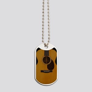 Acoustic Guitar Dog Tags