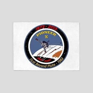 Pioneer X @ 40! 5'x7'Area Rug