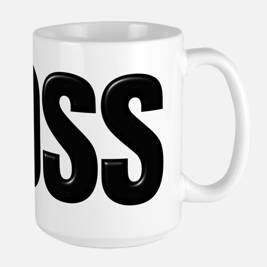 Like A Boss Large Mug