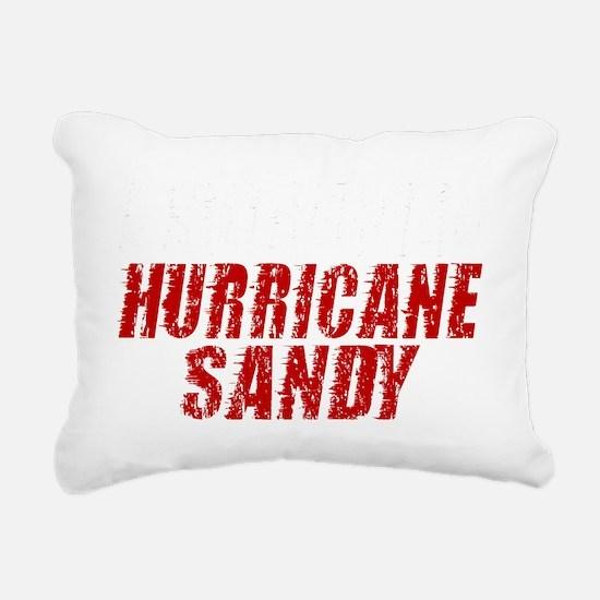 I Survived Hurricane San Rectangular Canvas Pillow