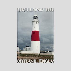 Portland Bill Lighthouse Rectangle Magnet