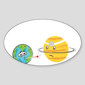 Humans... Sticker (Oval)