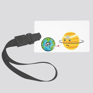 Humans... Large Luggage Tag