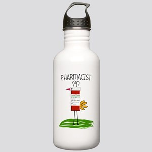 PHARMACIST BIRD NO BAC Stainless Water Bottle 1.0L