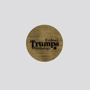 Trumpsleather notepad small Mini Button