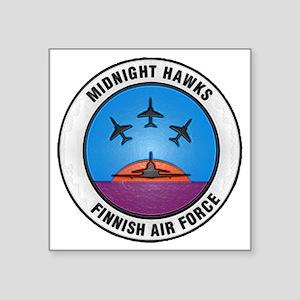 "Midnigh Hawks patch Square Sticker 3"" x 3"""
