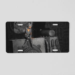 ttro_Key Hanger Aluminum License Plate