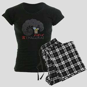 Pi thagoras Women's Dark Pajamas