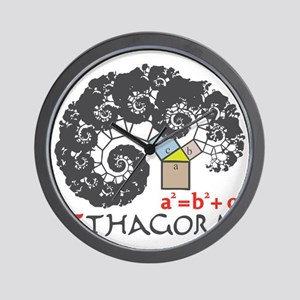 Pi thagoras Wall Clock