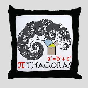 Pi thagoras Throw Pillow
