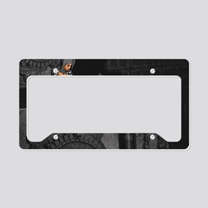 ttro_Rectangular Canvas Pillo License Plate Holder