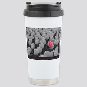 I Believe In Pink Stainless Steel Travel Mug