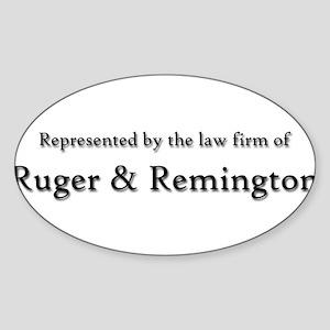 Law Firm2bumper copy Sticker
