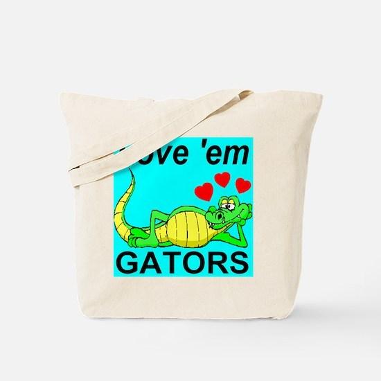 Love 'em Gators Tote Bag