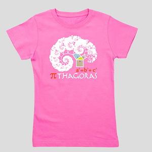Pi thagoras Girl's Tee