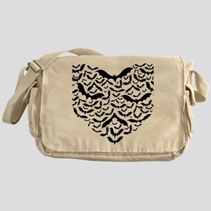 Bat heart Messenger Bag