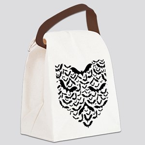 Bat heart Canvas Lunch Bag